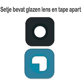 Samsung S6/S6 reuna kameran linssi lasi-musta