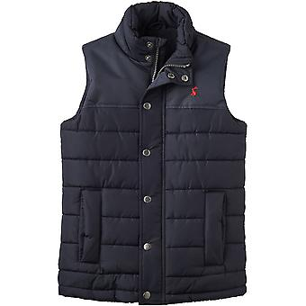 Joules Boys Matchday Warm Comfort Padded Polar Fleece Bodywarmer Gilet