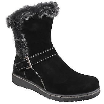 Fleet & Foster Womens/Ladies Budapest Winter Pull On Ankle Boots