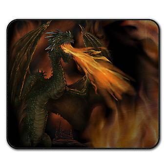 Fire Dragon crache tapis anti-dérapant Pad 24 x 20 cm | Wellcoda