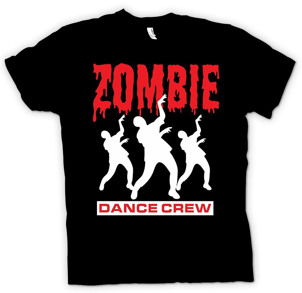 Kids T-shirt - Zombie Dance Crew - Funny Horror