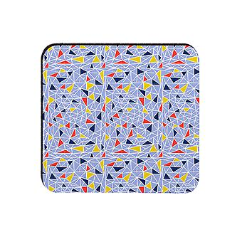 Melamaster Fragments Square Moulded Coaster