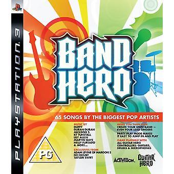 Band Hero - spelet bara (PS3)