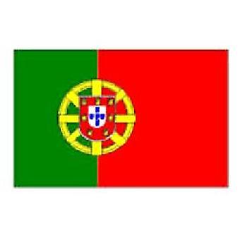 Portugal/portugisisk Flag 5 ft x 3 ft (100% Polyester) øjer til ophæng