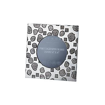 Small Square Charles Rennie Mackintosh Pewter Photo Frame - 4