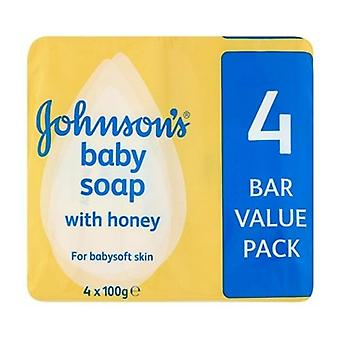 Johnsons Baby Soap with Honey