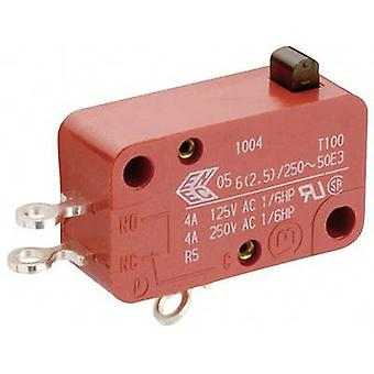 Marquardt Microswitch 01005.0904-03 250 V AC 10 A 1 x On/(Off) momentary 1 pc(s)