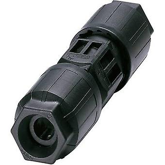 Phoenix Contact 1403838 Bullet connector Wire connector Series (connectors): QUICKON Total number of pins: 4 + PE 1 pc(s