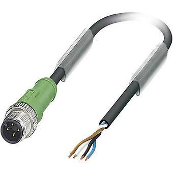 Phoenix Contact 1668069 SAC-4P-M12MS/ 5,0-PUR Sensor / Actuator Cable