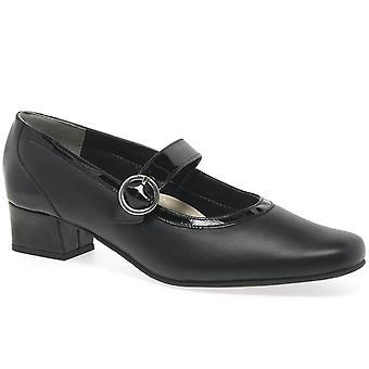 Van Dal Jump Wide Fit Patent Court Shoes