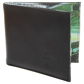 Celtic FC Mens Official Football Stadium Leather Wallet