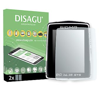 Sigma BC 14.16 STS display protector - Disagu flexible tempered glass protective film