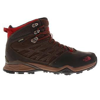 The North Face Mens Hedgehog GTX Mid Walking Shoes Waterproof Lace Up Breathable