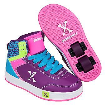 Sidewalk Sport Kids Hi Top Girls Skate Shoes