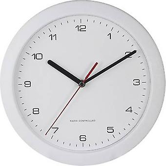 56786 Radio Wall clock 25 cm x 3.8 cm White
