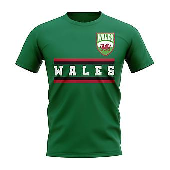 Wales Core Football Country T-Shirt (Green)