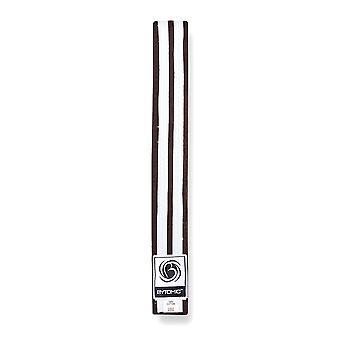 Bytomic Double Stripe Belt Brown/White