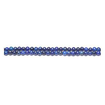 Strand 180+ Blue Lapis Lazuli 2mm Dyed Plain Round Beads GS10358-2