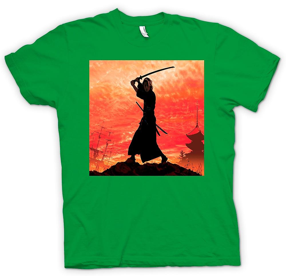 Hommes T-shirt - Samurai Fighter