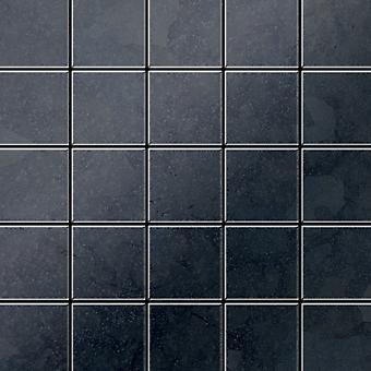 Metal mosaic Raw Steel ALLOY Century-RS