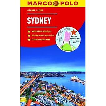 Sydney Marco Polo City Map 2018 - pocket size - easy fold - Sydney st