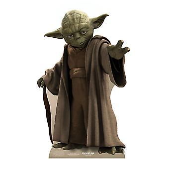 Yoda - Star Wars Lifesize Découpage cartonné / Standee