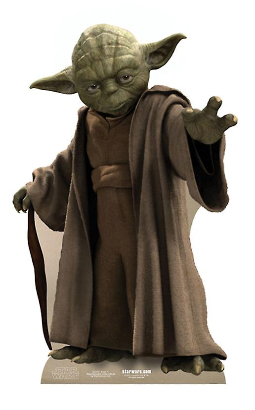 Yoda - Star Wars Lifesize kartong släppandet / stående