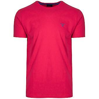 Gant GANT Wassermelone roten klassische Rundhals T-Shirt