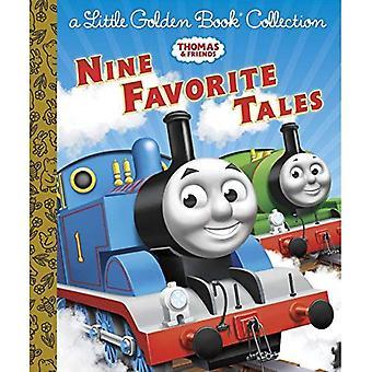 Thomas & vänner: Nio favorit berättelser (lilla gyllene boksamlingar)