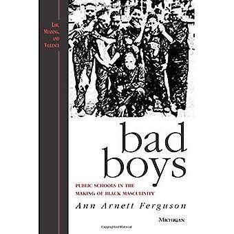 Bad Boys: les écoles publiques dans la fabrication de la masculinité noire