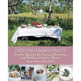 Svenske sommer fester: Oppskrifter for piknik, brunsjer og grilling på stranden