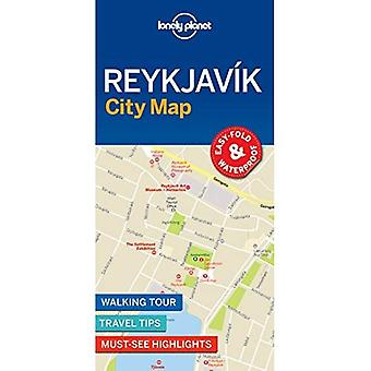 Lonely Planet Reykjavik City Map (Map)