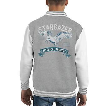 Stargazer Pegasus Unicorn Kid's Varsity jakke