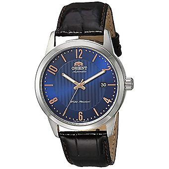 Orient Automatic Analog Man with a leather strap FAC05007D0