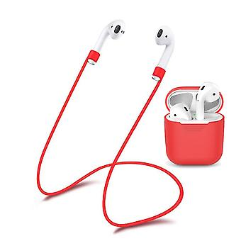 Protection for the Airpods-Red