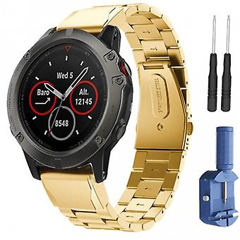 Bracelet Rsf Steel Garmin Fenix 3/5 x/5 x Plus-Gold