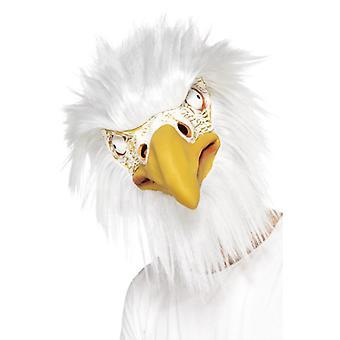 Eagle mask LaTeX deluxe full mask bird Eagle USA mask Carnival