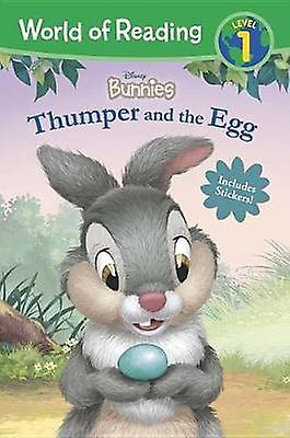 World of Reading - Disney Bunnies Thumper and the Egg (Level 1 Reader)