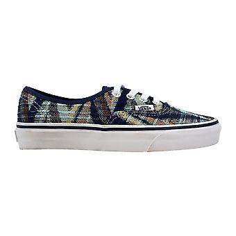 Vans autentiska vävda Chevron klänning Blues/True White VN00018BGY5 mäns