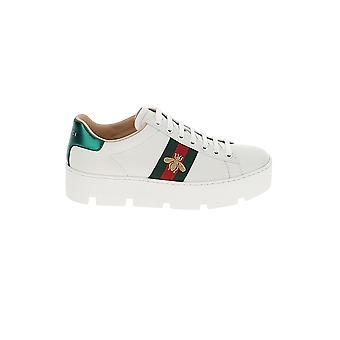 غوتشي أحذية جلدية بيضاء