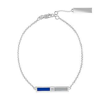 Seton Hall University Diamond Bar Bracelet In Blue And Grey