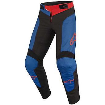 Alpinestars Anthracite Mid Blue Red 2019 Vector Kids MTB Pant