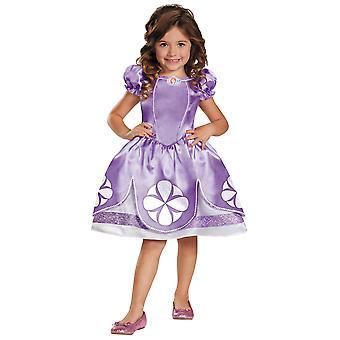 Sofia The First Disney Classic Royal Princess Book Week Girls Costume S