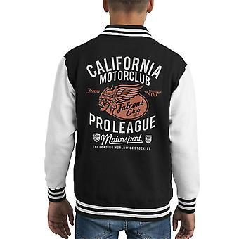 Divide & Conquer California Motorclub Pro League Kid's Varsity Jacket