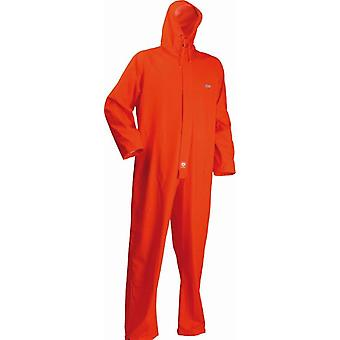 Lyngsoe HI VIS Orange Coverall Microflex FR-LR13-05