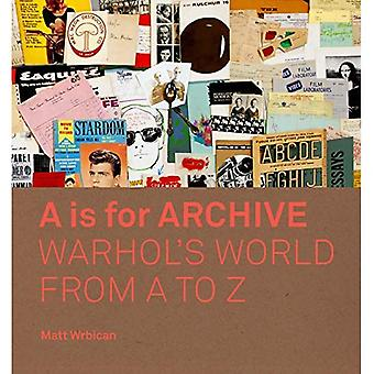 A es para Archive: Warhol'sa World from A to Z