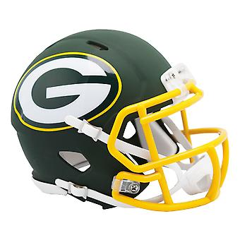 Riddell Speed Mini Football Helm - NFL AMP Green Bay Packers