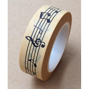 Love My Tapes Washi Tape 15mmX10m-Music Notes LMT15X10-1962