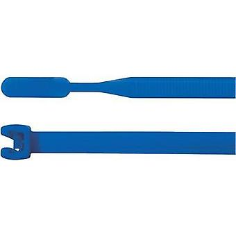 Cable tie 160 mm Blue Open end HellermannTyton 109