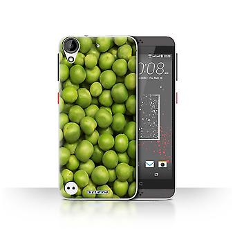 STUFF4 Case/Cover for HTC Desire 530/Green Garden Peas/Food